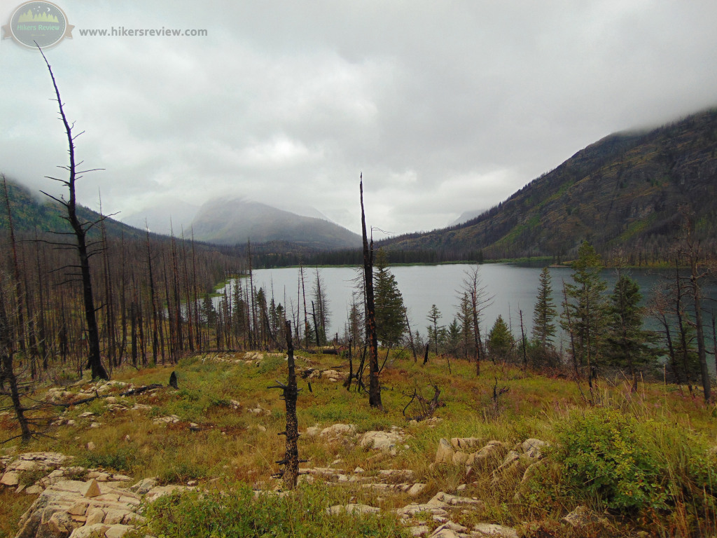 Cold, Wet, Cloudy Arrival at Red Eagle Lake.