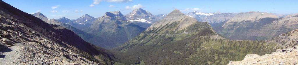 Overlook from Cut Bank Pass