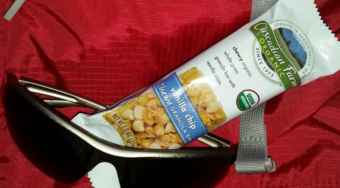 Backpacking review of cascadian farms organic granola bar