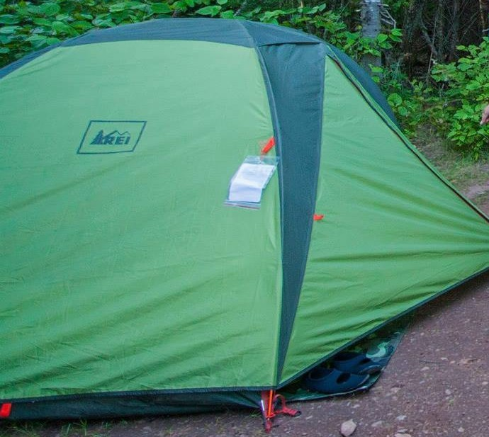REI Tent on Tent Pad & REI Half Dome 2 Plus u2013 Review u2013 Hikers Review